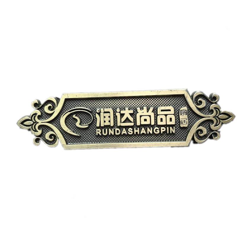 Furniture Brass Labels