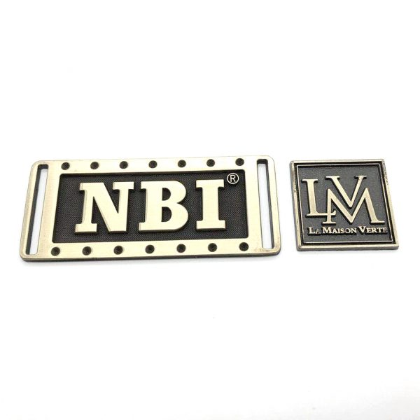 Brass Labels for Furniture