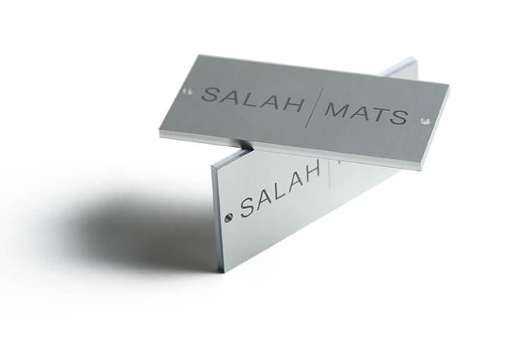 Engraved Metal Labels Drawing
