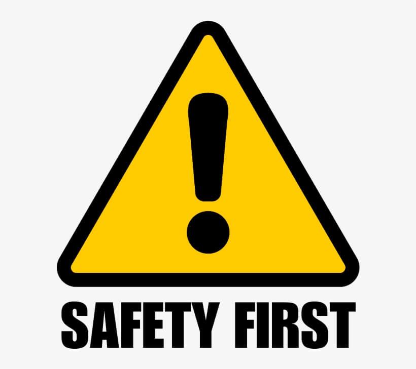 Safety First safety symbol