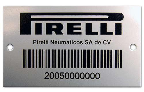 Paying for Stainless Steel Label