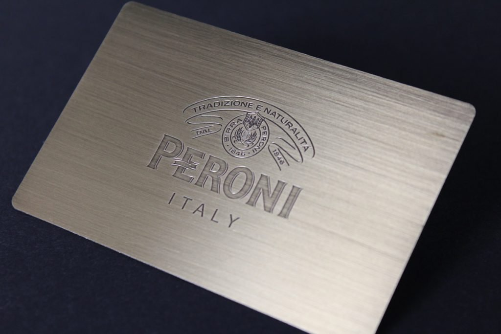 Shipping of Metal Membership Cards