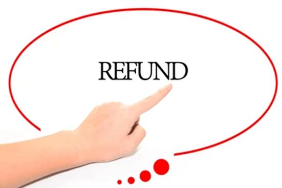A refund directive symbol