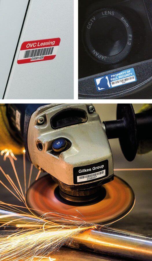 Equipment Tag Sample
