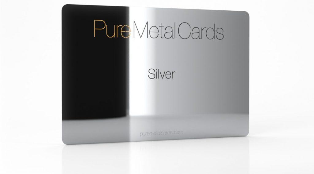 Silver Business Card Factors