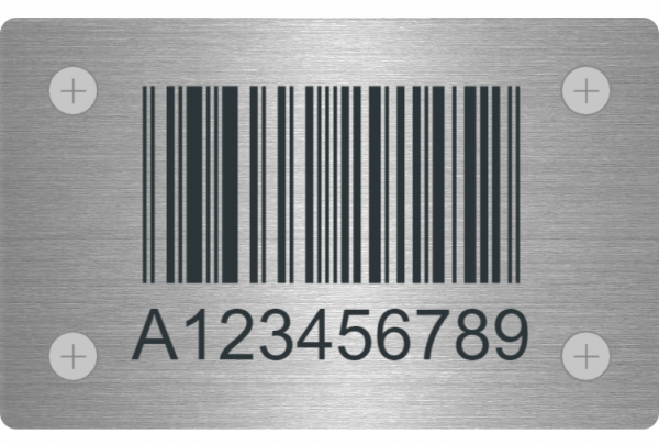 Designing a Stainless Steel Label