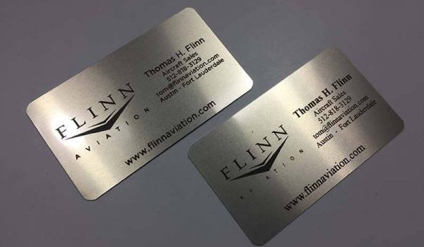 Free Silver Business Card Samples