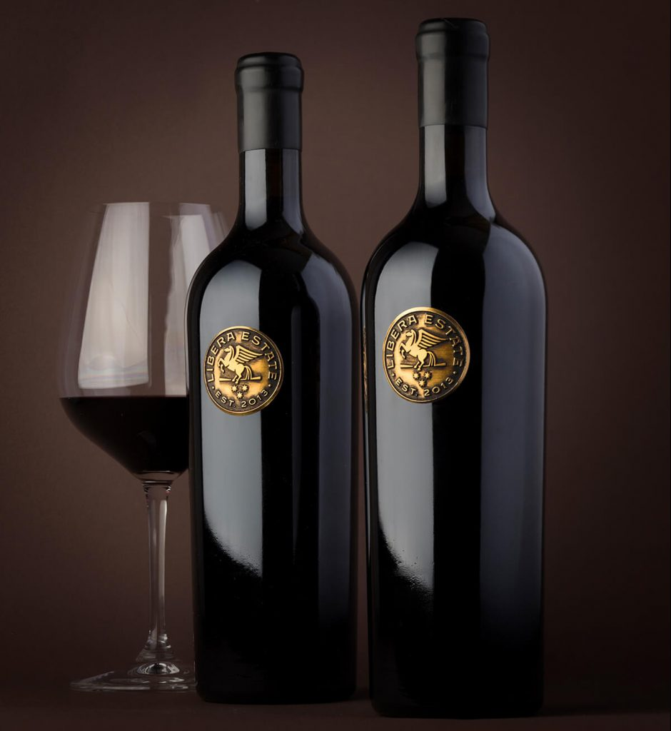 Materials used in Metal Wine Label