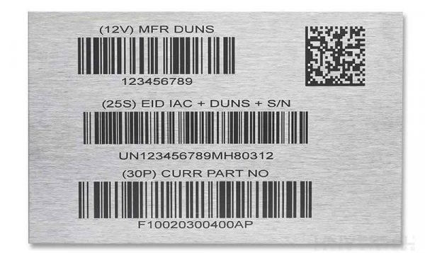 Numbering Asset ID Tags