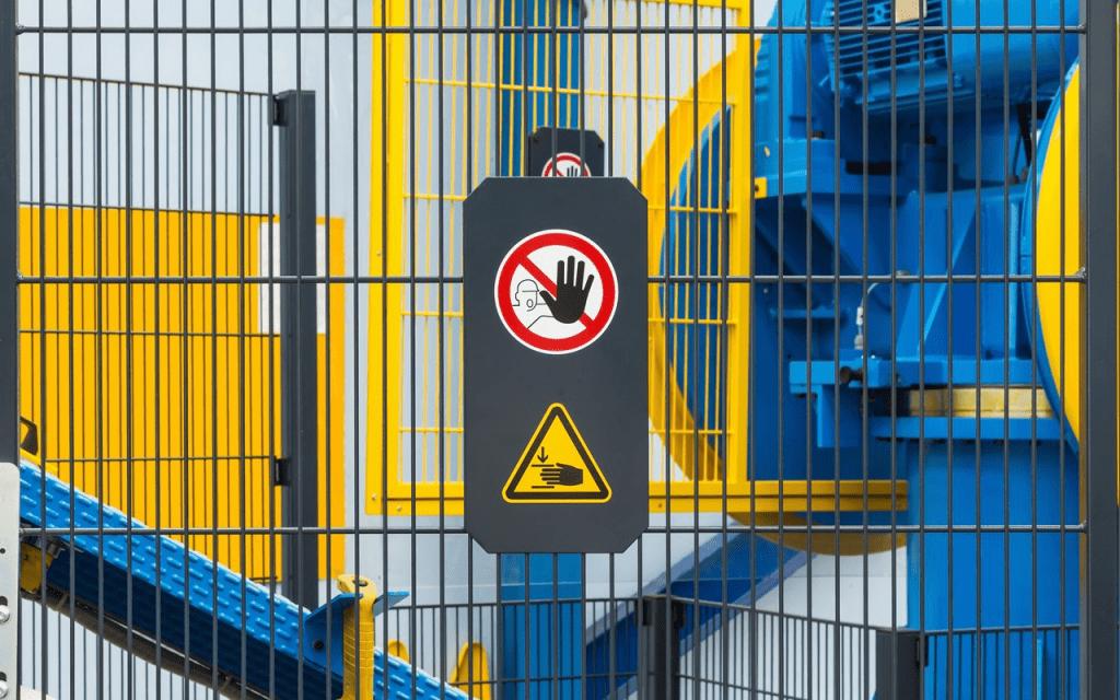 Customized safety signage