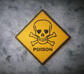 Health hazard safety symbols lab