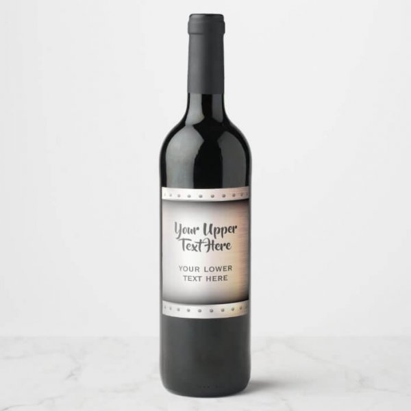 Size limitations for Metal Wine Label