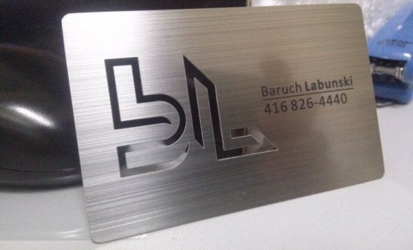 What to consider in a Silver Business Card