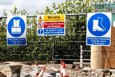 Medium safety signs