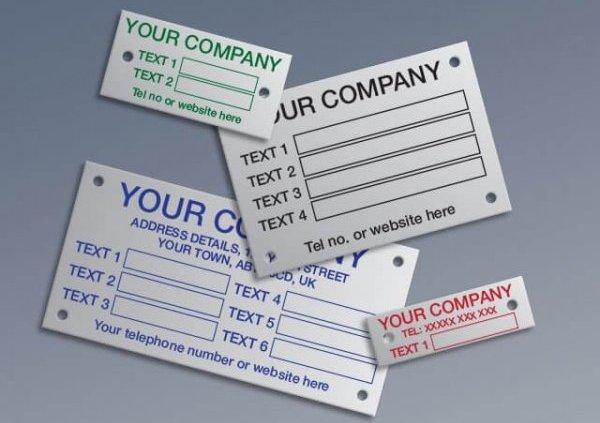 Custom Design for Aluminium Labels