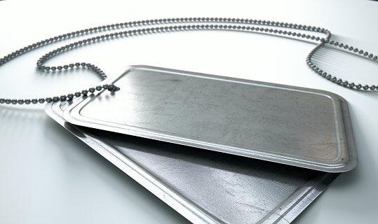 Shipping Aluminium Tags