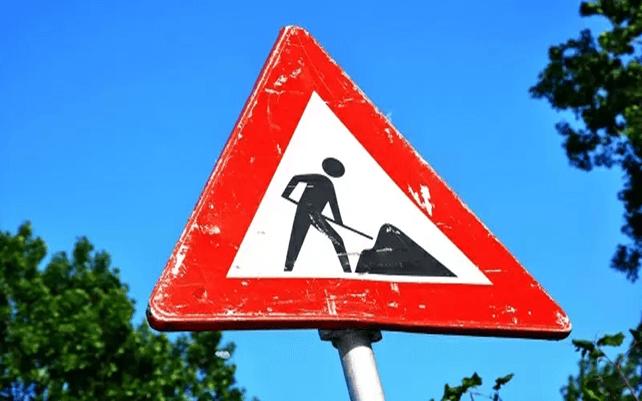 Construction safety symbol
