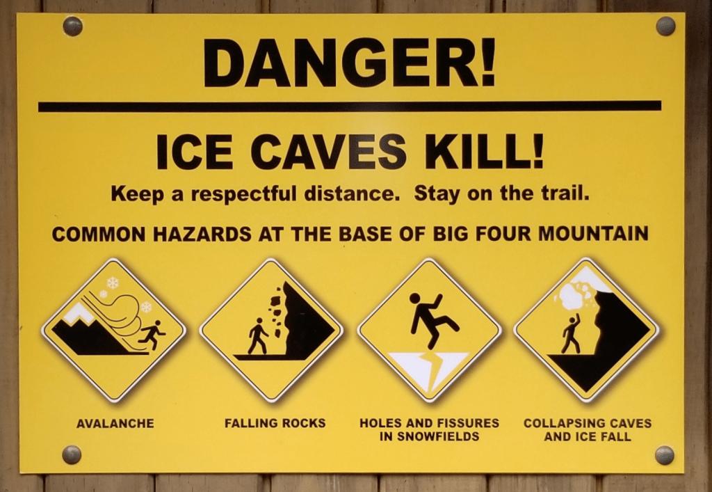 customized warning sign