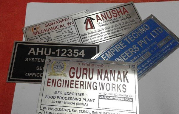 Steel Name Tags