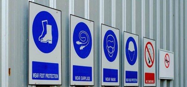Bargain for safety symbols