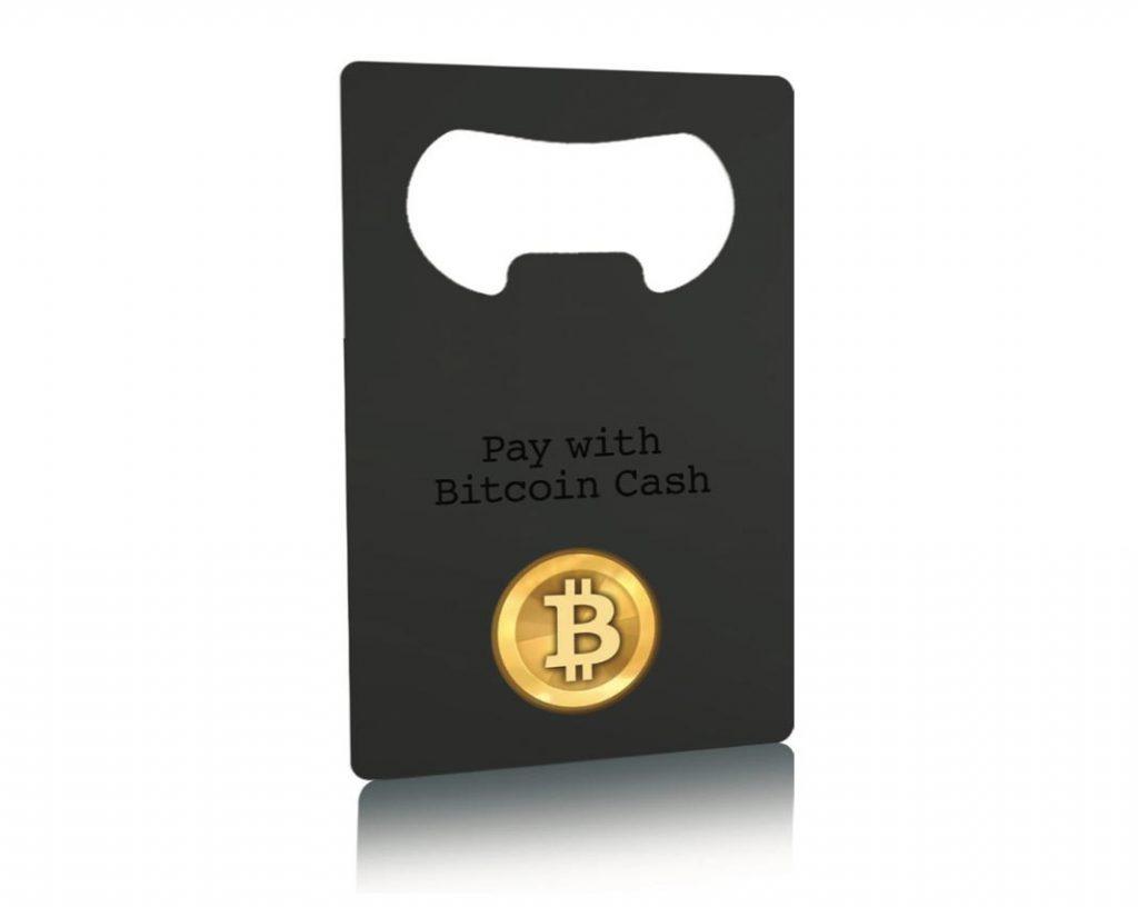 Receiving Metal Business Card Bottle opener