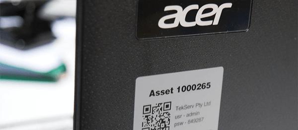Asset Tags Aluminum Samples