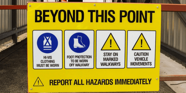 Customization for Safety signs Workplace